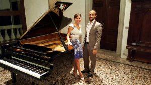 Francesca Cesaretti e Davide Tura