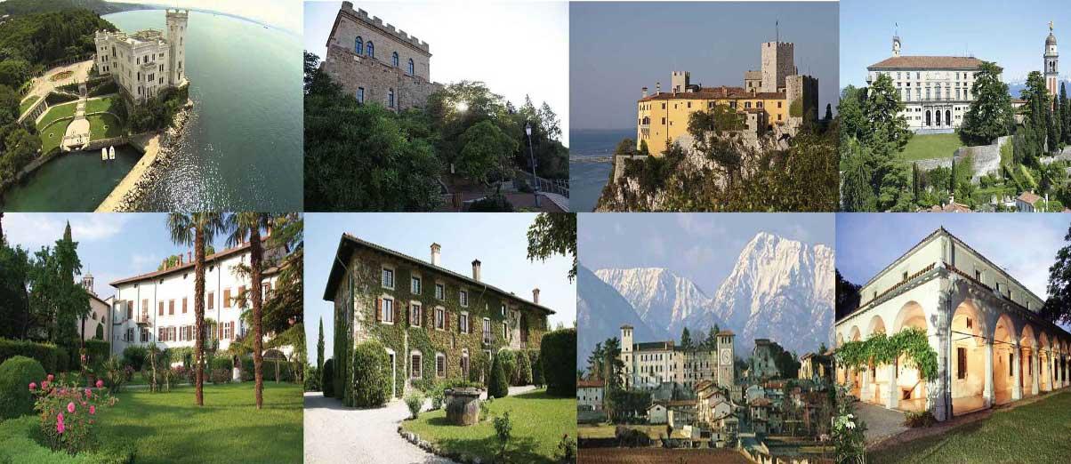 I castelli del Friuli Venezia Giulia